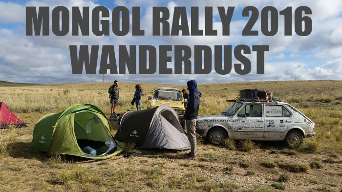 Video Resumen de WanderDust en el Mongol Rally 2016